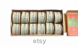 12 French Jewish Face Powder Boxes GERMANDRE in Original Packing Unopened