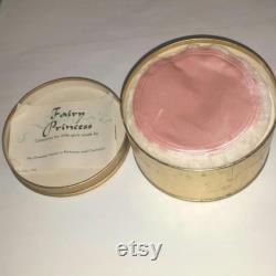50s New COTY Fairy PRINCESS Powder Box Fairytale Decor Vintage Bath Powder Box Sweet 16 Birthday Pink Girly Fairy Vanity Valentine Gift RARE