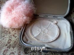 Antique vanity powder box