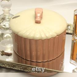 Chadwick Pink White Art Deco Dresser Box
