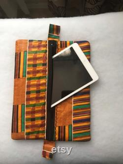 Kente Tablet Sleeve Tablet Cover. Customized to fit your tablet or laptop.