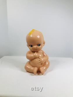 Kewpie Doll Baby Powder Canister, Baby Powder Canister, Plastic Baby Powder Canister, Kewpie Baby Powder Canister, Baby Powder Shaker