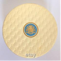 Large Face Powder Box D'Orsay Poudre Secret (1945-50). In original box packaging with full sealed contents. Immaculate.