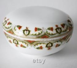 Powder Bowl, Trinket Dish, MZ Austria Egyptian Motif