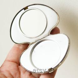 Powder Box LENINGRAD Pocket Mirror Compact, Pill Case