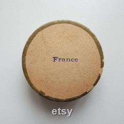 Rare Antique Rose Fin de Theatre Bourjois Face Powder Box French Face Powder Make-up Cosmetics A Bourjois and Cie Paris