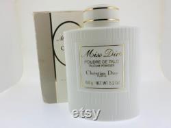 Rare Vintage Christian Dior Miss Dior Perfumed Talc Powder 150g