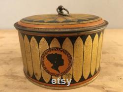 So Cool Audacia Trinket Box Boudoir Powder Raimonde Parfumeur New York Hollywood Regency Art Deco Vanity Decor
