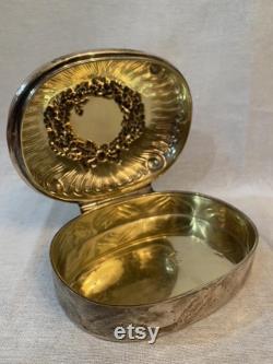 Tiffany and Company Sterling Silver Powder Box