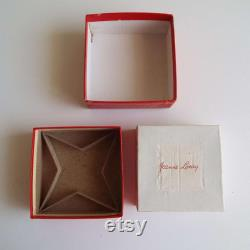 Vintage 1940's Jeanne Loray Powder Box Unused Face Beauty Powder Box Loray Cosmetic Company London Sydney Make-Up Vanity War Time WWII