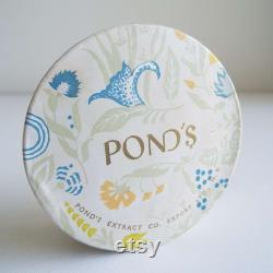 Vintage 1940's Pond's Dreamflower Face Powder Box Camellia Still Sealed Art Deco Powder Box Cosmetics Skin Care Vanity New York Melbourne
