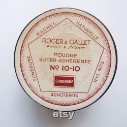 Vintage Art Deco Roger and Gallet Face Powder Box 1920's 1930's Powder Box Make-Up Vanity Item French Powder Box Unopened Vanity Storage