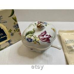 Vintage ELIZABETH ARDEN BLUEGRASS Milk Bath Set Chelsea Gardens Spoon Trinket