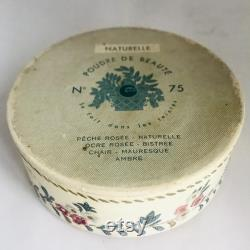 Vintage Gibbs Poudre de Beaute Face Powder Box full sealed contents 1930s