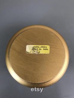 Vintage Gold Powder Box With Theology's Image Vintage Cherub Powder Box Vintage Trinket Box Vintage Dresser Box Image By Raffaello Sanzio