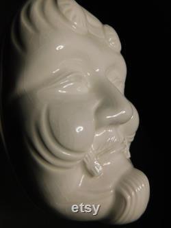 Vintage Japanese Porcelain Powder Box