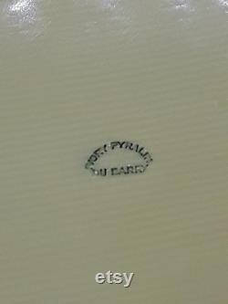 Vintage Monogrammed (NST ) Du Barry Ivory Pyralin Powder or Trinket Box