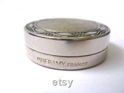 Vintage powder box Cheramy France