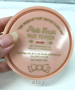 Vtg Face and Body Powder Boxes Evyan White Shoulders Ruth Rogers Hollywood Avocado Nude Photo Finish, MidCentury Vanity Lot