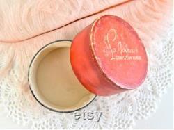 vintage La Jaynees complexion powder box vanity decor